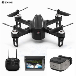 Toy Drones Cameras Australia - Eachine EX2mini Brushless 5.8G FPV Camera With Angle Mode Acro Mode RC Drone Quadcopter RTF