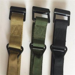 Inner Belt Australia - Outdoor Training Belt Rescue Inner Girdle Canvas Waistband Adult Portable Black Green Factory Direct Selling Hot Sales 6yl C1