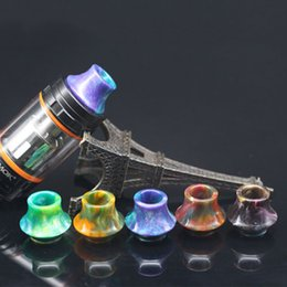 tank cones UK - 810 Cone Epoxy Resin Drip Tips Wide Bore Drip Tip Mouthpiece For SMOK TFV8 TFV12 Kennedy 24 Tank Electronic Cigarette Atomizer