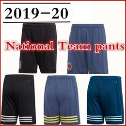 French shorts online shopping - 2019 ball pants National Team ER Argentina Brazil Mexico French Sweden Colombia Sverige Scotland football shorts