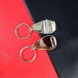 $enCountryForm.capitalKeyWord Australia - Fashion Keychain Portable Mini Beer Drink Bottle Opener Designer Key Chains Stainless Steel Multi-function Backpack Pendant