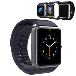 deep alloys NZ - Smart Watch GT08 Clock Sync Notifier Support Sim TF Card Bluetooth Connectivity Android IOS Phone Smartwatch Alloy Bracelet Smartwatch