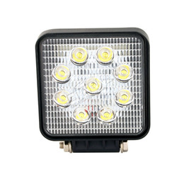Motorcycle Running Light Australia - 20x27W 9LED work light driving running fog lamp for 4x4 offroad truck trailer tractor mining motorcycle car automotive headlight