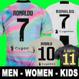 ae1949c5b53 Thai New 2019 RONALDO JUVENTUS Soccer Jersey 18 19 JUVE 2018 Home Away  DYBALA Camisetas Futbol Camisas Maillot Football Shirt men women kids