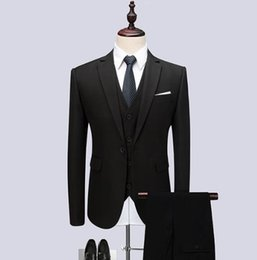 609241e2b81 Discount men sky blue suit blazer - 2019 New Suits Blazers Pants set 3  Pieces Men