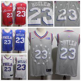 1a58a7f6e 2019 Mens Philadelphia Jersey 76ers 23 Butler Basketball Jerseys Stitched  New City Jerseys Butler Jerseys 76ers Basketball Short