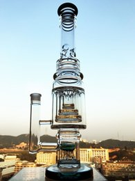 $enCountryForm.capitalKeyWord Australia - 17.5 inch 7MM tall big bong 8 Arm Sprinklers glass water pipe dab oil rig big thick glass water bong