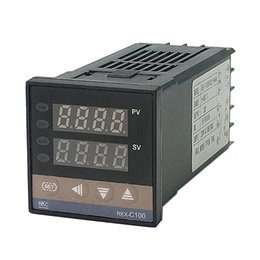 Top Sell RKC REX C100 Digital PID Temperature Controller relay output 48*48 k type