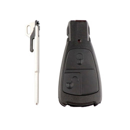 $enCountryForm.capitalKeyWord Australia - 2Button Old Style For C180 1998-2004 W202 Remote Car Key Shell Design Smart Key Fob Cover Case With Blade