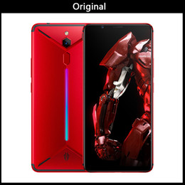 Wifi Game Player Australia - ZTE Nubia Red Magic Mars Game Smartphone 6.0 inch 6GB 8GB 10GB RAM 64GB 128GB 256GB ROM Snapdragon 845 Octa-core Android 9.0