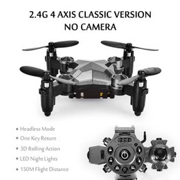 $enCountryForm.capitalKeyWord NZ - LeadingStar DH800 RC Drone Mini Foldable Mode Quadcopter 4 Channel Gyro Aircraft with Watch Type Remote Controller