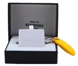 Rfid Reader Wall Australia - 20Sets 125KHz Portable Android OTG RFID Reader Smart Card Proximity Sensor Micro Mini USB RFID Reader For TK4100 EM4100 Fast Ship With LED