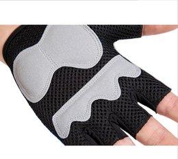 Новые модные спортивные перчатки на полпальца для мужчин и женщин, перчатки для верховой езды на открытом воздухе, амортизирующие износостойкие беговые, напольные