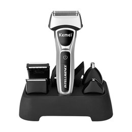 razor for shaving electric rechargeable Australia - Kemei 12 In 1 Personal 3D Electric Shaver for Men Hair Beard Trimmer Mesh foil Razor Rechargeable Hair Clipper Shaving Machine