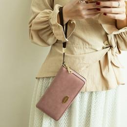 $enCountryForm.capitalKeyWord Australia - New Women Long PU Leather Wallet Women RFID Blocking Wallet Leather Zip Around Clutch Large Travel Purse