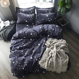 White red roses bedding online shopping - Home Textile Kids Bedding Set Blue Little Star Twin full queen king Size Duvet Cover Set BedSheet Pillowcase Bed Linen Bedclothe