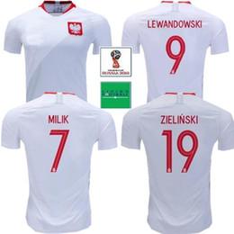 424da2f0cc9 2018 POLAND short soccer jerseys Home Away lewandowski Glik krychowiak  KRYCHOWIAK 2019 Poland home away football jersey shirts
