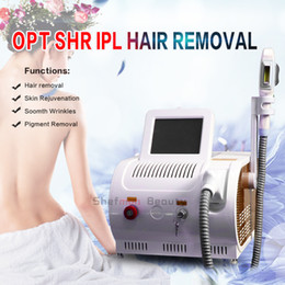 ipl xenon lamps Canada - Portable UK Xenon Lamp Ipl Machine Super Shr Hair Removal Device Laser pigment acnes Remover Skin Rejuvenation IPL Machine