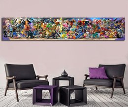 Video game art online shopping - Newest Super Smash Bros Ultimate Update Art Video Game Poster Cartoon Pictures Artwork Canvas Paintings Wall Art for Home Decor