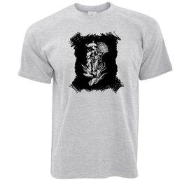Discount tribal print clothes - Abstract Tribal Art T Shirt Native American Indian Nautical Arcane denim clothes camiseta t shir