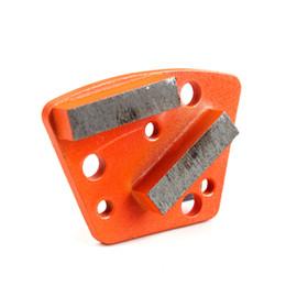 KD-A30 Meules diamantées Meule diamantée avec filet et trous nus pour béton et plancher de terrazzo, 9 pièces, un ensemble en Solde