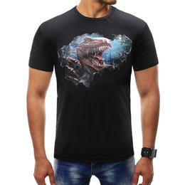 Printed Tees Australia - Male 2019 Summer Short Sleeve Print T Shirt O-neck Slim Men T-shirt Tops Fashion Mens Tee Shirt T Shirts Plus