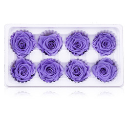 Roses dRied floweRs online shopping - DIY Artificial Rose Flower Bright Color Home Decor Delicate Dried Flowers Wedding Festival Supplies New Style hl Ww