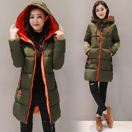 $enCountryForm.capitalKeyWord Australia - Women Parkas 2019 Winter Cotton jacket New Thick Warm Hooded Student Coat Plus size Fashion Female Long Cotton-padded jacket Z30