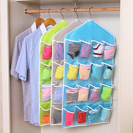 $enCountryForm.capitalKeyWord NZ - 16 Pockets Clear Over Door Hanging Bag Shoe Rack Hanger Storage Tidy Organizer Fashion Home