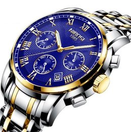 $enCountryForm.capitalKeyWord Australia - Nibosi new cross-border popular men's watch waterproof luminous multifunctional wrist watch stainless steel quartz watch Free shipping