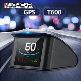 "$enCountryForm.capitalKeyWord Australia - ead-up Display VJOYCAR T600 GPS HUD Display Car Speed Projector 2.6"" TFT LCD Smart On-Board Computer Digital Car Speedometer Work for All..."