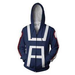 dd6a0c68a02af Anime hoodie 3D jacket men Women My Hero Academia Hoodies Coat Todoroki  Shoto Cosplay Costumes male Sweatshirt tracksuit Uniform