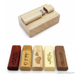 $enCountryForm.capitalKeyWord NZ - Brand USB 2.0 Flash Drive Wooden Engraved Custom Wedding Gift Memory Stick Pen drive