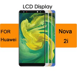 """$enCountryForm.capitalKeyWord Australia - Display Touch Screen Digitizer Replacement For Huawei Nova 2i Lcd 5.9"""" Display With Frame RNE L01 L02 L03 L21 L22 L23"""
