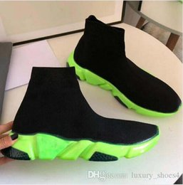 jute cloth Australia - Fashion designer Sock Shoes Speed Shoes women boots Sneakers designer shoes Trainer s Socks Race Runners black Shoe man woman shoe k1