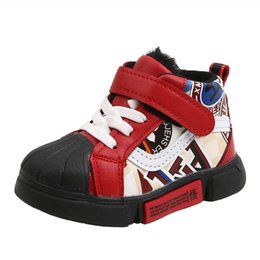 baby boys trainers NZ - New toddler shoes boys shoes baby shoes infant shoe baby boy shoe boys sneakers toddler trainers A9329