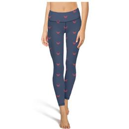 $enCountryForm.capitalKeyWord Australia - Washington Capitals red blue Yoga Pants Women With pocket Yoga Pants slimming yoga leggings Sport quick dry capri Legging