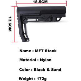 $enCountryForm.capitalKeyWord Australia - Airsoft Nylon Stock for MFT for Airsoft Air Guns Accessories Paintball AEG Gel Blaster JM9 Gearbox CS Sport Tactical