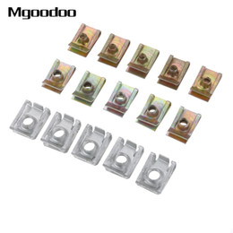 Motor fairings online shopping - 10Pcs Auto Clips M5 M6 M8 Universal Clips For Car Motor Tread Panel Spire Nut Fairing Clip Fastener Speed Metal Mounting Clamp