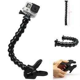 Cuello de montaje del soporte ajustable para abrazadera Gopro Tubo flexible flexible para Gopro Hero 5/2/3/3 + / 4 para cámara deportiva SJ 4000/5000/6000 en venta