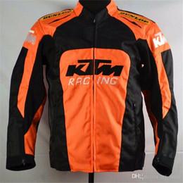 Venta al por mayor de De alta calidad de fábrica de ventas directas de protección chaquetas de la motocicleta Motocross Ciclismo Jerseys Ciclismo Ropa MotoGP Hombres Chaqueta Para KTM Racing