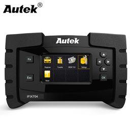 Automotive Engine Scanners Australia - Autek IFIX704 for GM Ford Chrysler Toyota Lexus SAS,DPF Car Diagnostic All System Automotive Scanner Engine Airbag ABS Reset