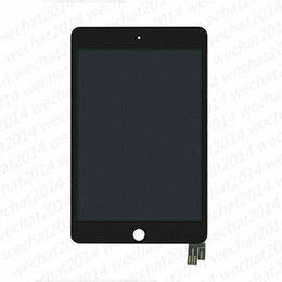 9.7 digitizer UK - 10PCS New LCD Display Touch Screen Digitizer Replacement Assembly for iPad Mini 5 Mini5 2019 A2124 A2126 A2133 free DHL