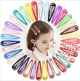 $enCountryForm.capitalKeyWord Australia - Designer BB Hair Clips Candy Color Charm Snap Hair Clips 20 Colors Barrettes Lovely Hair Accessories for Women Girls Free Shipping