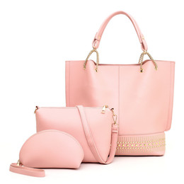 $enCountryForm.capitalKeyWord NZ - 2019 Leather Women Totes Handbags Composite 5 Colors Stock in Wholesale with High Quality Ladies Girls Love Fashion Vogue Shoulder Bags