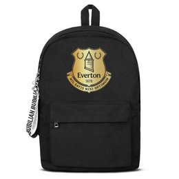 $enCountryForm.capitalKeyWord UK - Everton F.C. The Blues The Toffees Flash gold Free Shipping Women Men Canvas School Student Backpack Waterproof Travel Backpack Pri