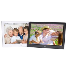 China New 12-inch digital photo frame, high-definition video advertising machine, 16.5 narrow-frame remote control, electronic photo album cheap video photo frame suppliers