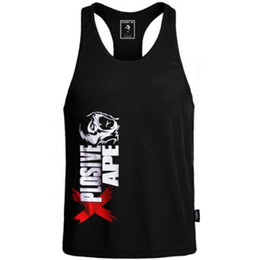 f1e58bd8b59dba 2019 New Men Stringer Tank Top Gasp Brand Mens Bodybuilding Fitness Male  Singlets Clothes Muscle Vest Sleeveless Tank