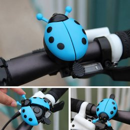 mountain bike alarm Australia - Ladybug Shape Children Bike Bell Durable Steel Plastic Mountain Bike Road Bicycle Handlebar Alarm Horn Kids Bike Accessories