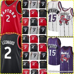 eeade4b49 Toronto Kawhi 2 Leonard Raptors Jersey Retro Mesh Vince 15 Carter Tracy 1 McGrady  Jersey New Kyle 7 Lowry Basketball Jerseys Cheap sale